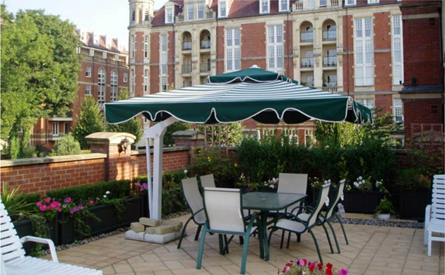 Commercial Umbrellas - New Jersey Awnings